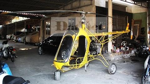Tâm nguyện của người chế máy bay trực thăng