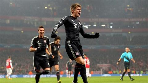Arsenal bất ngờ tấn công Toni Kroos