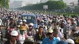 Xe máy Sài Gòn đóng phí 150 ngàn/năm