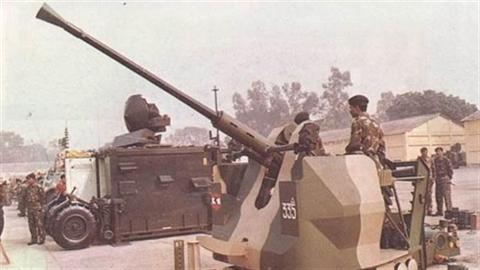 Ế thầu, Ấn Độ tự phát triển pháo phòng không
