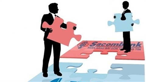 Eximbank lãi bao nhiêu nếu thoái vốn tại Sacombank?