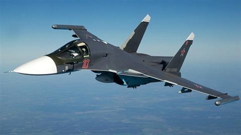 Cường kích Su-34 chính thức gia nhập Không quân Nga