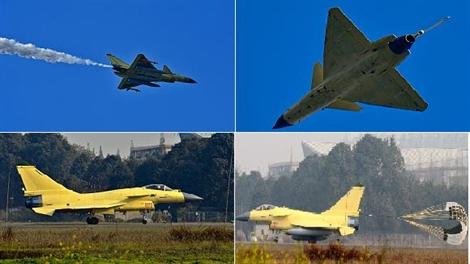 Chiêm ngưỡng 'con cưng' J-10 của không quân Trung Quốc