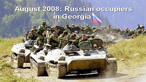 "Ukraine và ""vết xe đổ"" Gruzia"