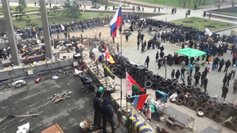 4 dấu hiệu Kiev đàn áp thẳng tay biểu tình đông Ukraine