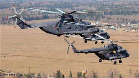 Nga dùng trực thăng nào trong duyệt binh tại Quảng trường Đỏ?