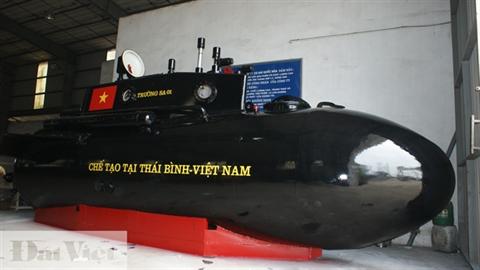 Sẽ cho phép tàu ngầm Trường Sa thử nghiệm