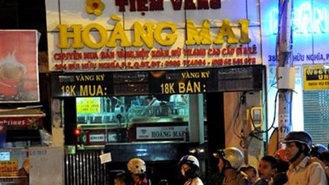 Công an lên tiếng vụ 'đột kích' tiệm vàng ở Sài Gòn