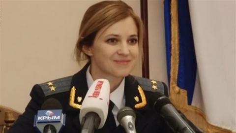 Nữ Bộ trưởng xinh đẹp của Crimea tái xuất sau truy nã