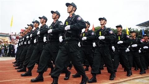 Khám phá loại súng của CSCĐ trong diễu binh Điện Biên Phủ