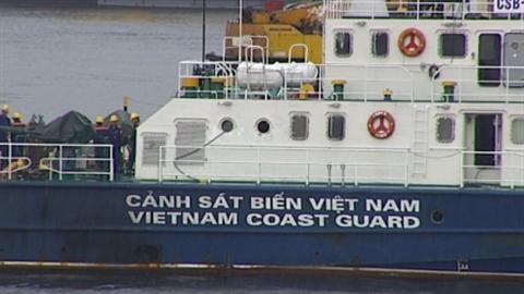 Tàu cảnh sát biển sẵn sàng ra khơi sau khi sửa chữa