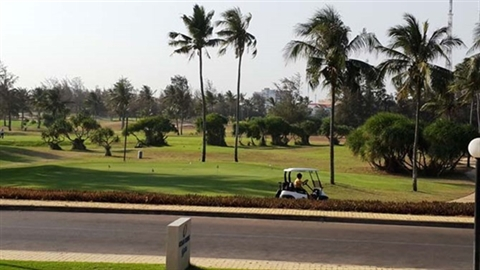 Thủ tướng không đồng ý chuyển đổi sân golf Phan Thiết