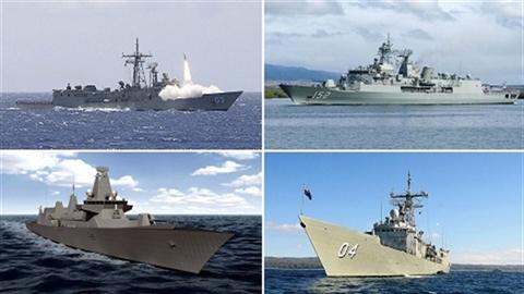 Hải quân châu Đại dương chỉ bằng 1 hạm đội Trung Quốc