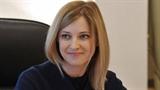 Nữ Bộ trưởng xinh đẹp của Crimea lấn sân làng giải trí
