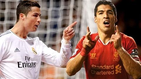 Real từ bỏ Suarez chỉ vì Ronaldo không thích