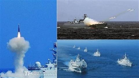 Sức mạnh tầm thế giới của hạm tàu mặt nước Trung Quốc