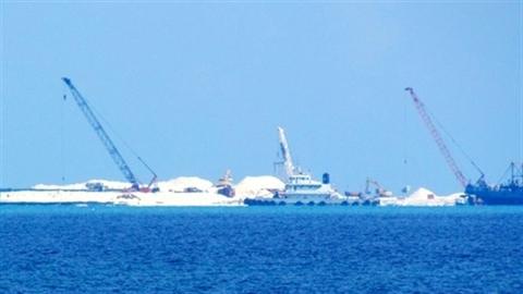 Ngư dân Việt thấy việc Trung Quốc xây dựng ở Gạc Ma