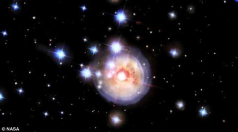 Cận cảnh vụ nổ sao trong vũ trụ