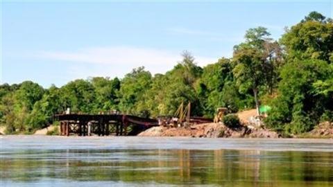 Lào xây dựng thủy điện Don Sahong trên sông Mekong
