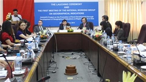 Xây dựng NT phát triển chỉ dẫn địa lý tại châu Á