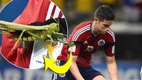 'Bùa hộ mệnh' vẫn không giúp sao Colombia thắng Brazil