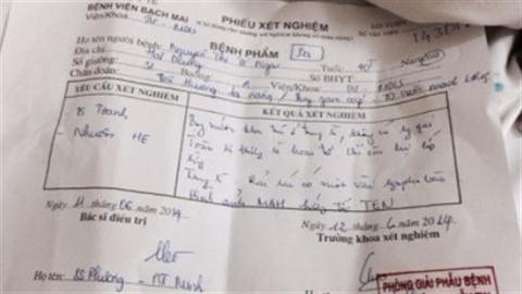 Một giáo viên tử vong 'bất thường' ở bệnh viện Bạch Mai?