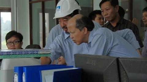 Thứ Trưởng Bộ xây dựng Nguyễn Trần Nam tới thăm TAFICO