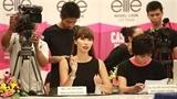 Hà Anh làm 'nóng' Elite Model Look Việt Nam trong ngày bão