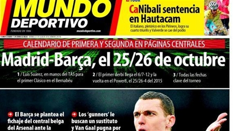 Arsenal có giải pháp cho Balotelli, Barca sẽ 'cuỗm' hàng của Man Utd
