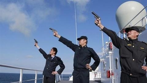 Trung Quốc tập trận bắn đạn thật ngoài vịnh Bắc Bộ