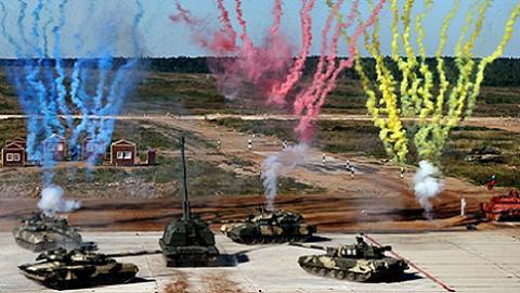Lính tăng Việt Nam không tham dự giải