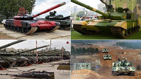 """Trung Quốc mang """"đồ cổ"""" Type-96A sang Nga thi đấu"""