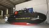 Bộ Quốc phòng kiểm tra tàu ngầm Trường Sa trước thử nghiệm