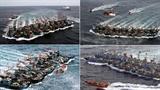 'Hàng không mẫu hạm' Trung Quốc dốc sức xâm chiếm biển Đông