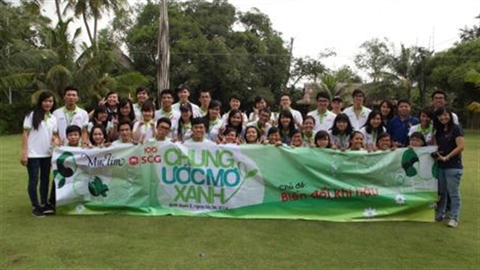 Giới trẻ Việt: 'Chung ước mơ xanh' về môi trường