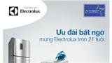 Cơ hội mua sắm lớn nhất năm với Electrolux