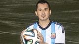Lộ diện ca sĩ Việt giống Messi như tạc