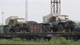 Cận cảnh pháo hạng nặng Ukraine tố Nga đưa vào miền Đông