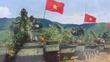 Hình ảnh huấn luyện kíp xe tăng chiến đấu QĐND Việt Nam