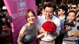 Chae Rim khoe ảnh cưới phi công trẻ
