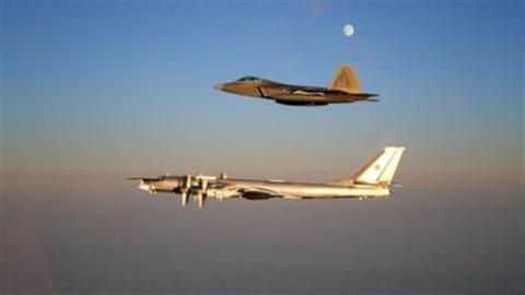 Máy bay Nga liên tục bị truy đuổi