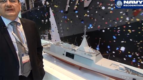Lộ diện chiến hạm tàng hình của Malaysia