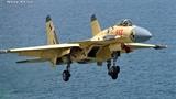 Đội hình máy bay của tàu Liêu Ninh