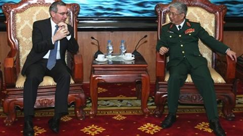 Tướng Vịnh: Hợp tác quốc phòng Mỹ-Việt có bước phát triển mới