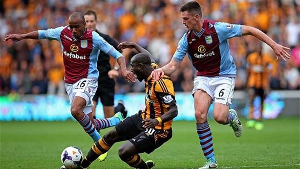 19h30 31/08/14; Aston Villa - Hull City: Giải hạn bằng món quen