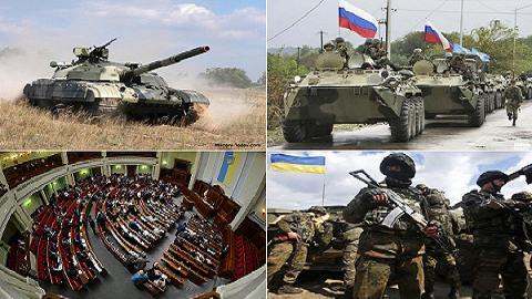 Ukraine rối loạn, NATO lại dọa 'tăng quân, cấm vận'