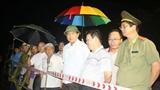 Bộ trưởng Thăng tới hiện trường vụ xe khách lao xuống vực