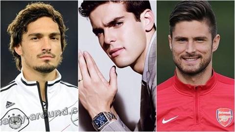 Vẻ đẹp trai của các sao bóng đá khiến phái nữ 'tan chảy'