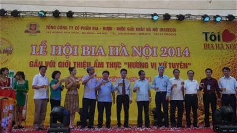 Lễ hội Bia Hà Nội hòa quyện cùng hương vị xứ Tuyên!