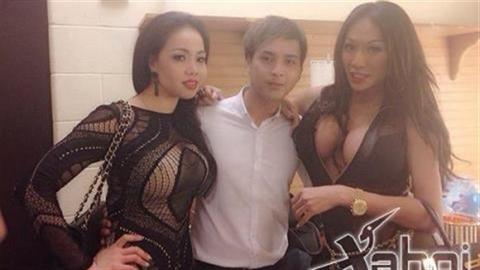 Hồ Quang Hiếu bên mỹ nữ vòng 1 ngoại cỡ gây sốt
